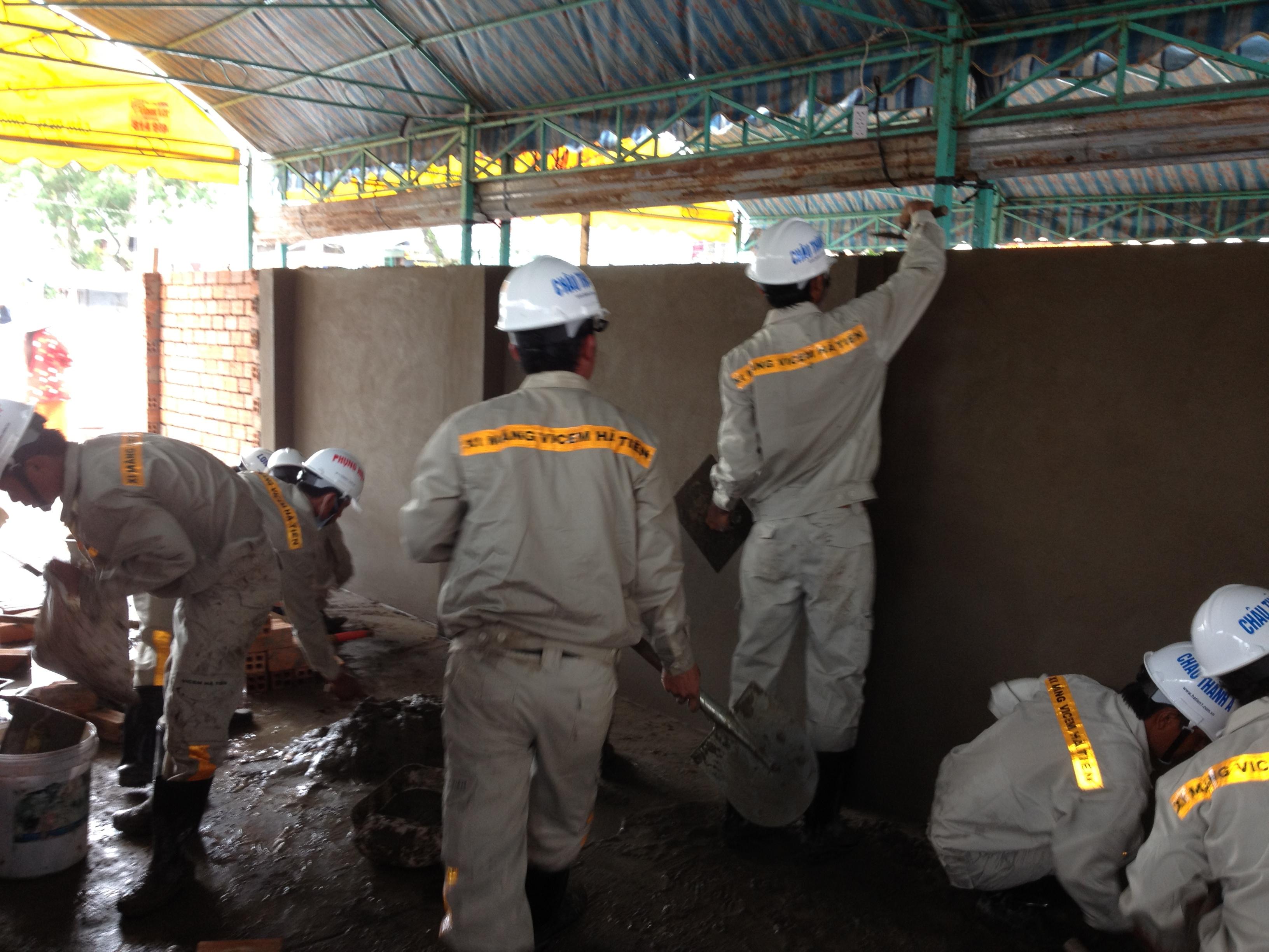 Tiếng Anh công tác xây