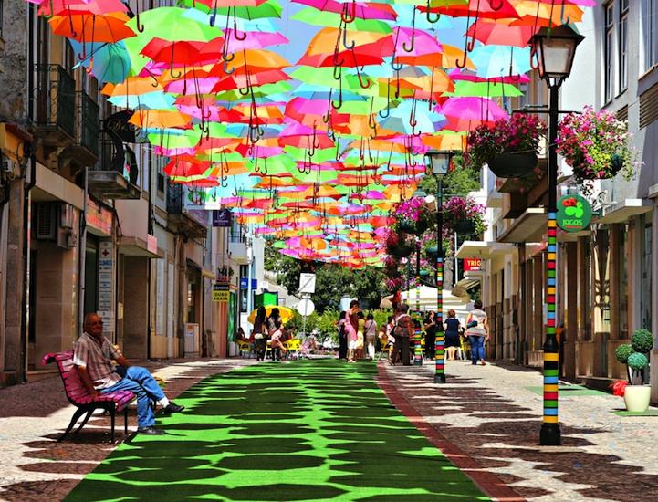 How are umbrellas made ?